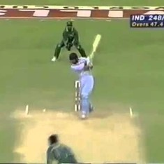 Watch: Ajay Jadeja playing a T20 innings against Pakistan in the quarter-final of a World Cup – in 1996
