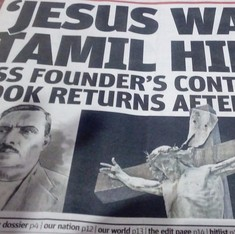 'Why didn't he get a B Tech?': Twitter dissects theory about Jesus' Tamil roots