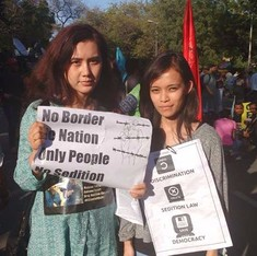 Azadi voices: At JNU march, students speak out against state repression and for the right to dissent