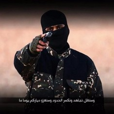 Can voice recognition technology really identify a masked jihadi?
