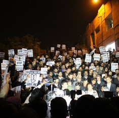 No, the slogans of the JNU students don't count as sedition under the law