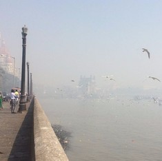 In pictures: Fire at dumping ground leaves Mumbai smog-covered for second day in a row
