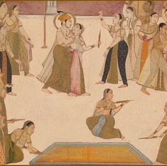 Two poems that show an Islamic tradition of celebrating Holi and colours