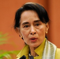 Aung San Suu Kyi to serve as Myanmar's foreign minister