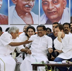 Was Rahul Gandhi right when he said that only the Congress could defeat itself in Kerala?