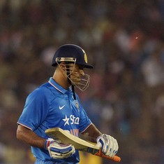 Has Mahendra Singh Dhoni simply lost the will to win?