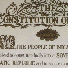 The official copy of the Indian Constitution was not written on just any piece of paper