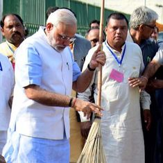 Two years on, there has been little movement on a key goal of Swachh Bharat – ending open defecation