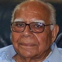 Ram Jethmalani and BJP jointly move court to withdraw his suit against his expulsion from the party