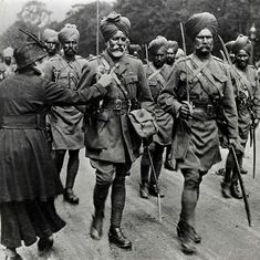 'Death holds no fear for us': A Sikh soldier's insights into the horrors of World War I