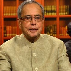 Congress should not form a coalition, but go alone to keep its identity intact: Pranab Mukherjee