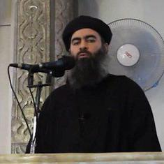 Islamic State chief Abu Bakr Al-Baghdadi's son killed in Syria, say group's social media accounts