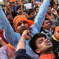 दिल्ली विश्वविद्यालय में प्रदर्शनों का सिलसिला जारी, अब एबीवीपी ने 'सेव डीयू' मार्च निकाला