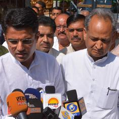 Rajasthan Congress begins to crack as Ashok Gehlot jostles with Sachin Pilot