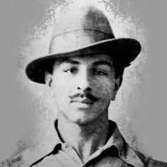 भगत सिंह को आज हम जिस तस्वीर से पहचानते हैं वह भी बम फेंकने की तैयारी का हिस्सा ही थी