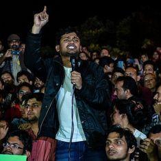 जेएनयू कांड : दिल्ली पुलिस के आरोपपत्र में कन्हैया नहीं, खालिद और अनिर्बान पर देशद्रोह का आरोप