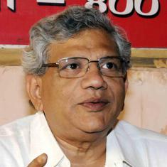 भाजपा बगैर आधिकारिक घोषणा के संस्थानिक आपातकाल लागू करने की कोशिश कर रही है : सीताराम येचुरी