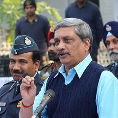 Defence Ministry will review all firms blacklisted during previous regime, says Manohar Parrikar
