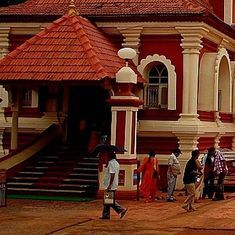 Goa's temples are losing their local features, and the rise of money power may be to blame