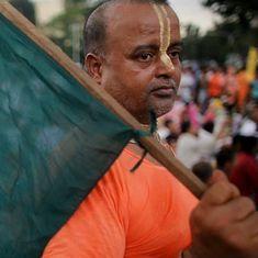बांग्लादेश में हिंदू मंदिरों व घरों पर हमला करने वालों के खिलाफ पुलिस ने दो मामले दर्ज किए