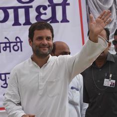 भाजपा शासन में यूपीए सरकार की परियोजनाओं की अनदेखी हो रही है : राहुल गांधी