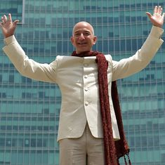 Jeff Bezos becomes world's second richest person after Amazon acquires Souq.com