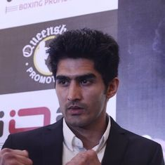 'I am not taking anything for granted': Vijender ahead of Saturday's title bout