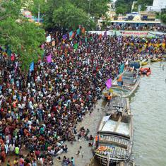 Chandrababu Naidu, state government not to blame for 2015 Godavari stampede, concludes report