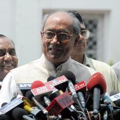 भाजपा ने हमारे विधायकों को किडनैप करने का प्रयास किया और पैसे का लालच दिया : दिग्विजय सिंह