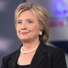 राष्ट्रपति चुनाव में मेरी हार के लिए रूस और एफबीआई निदेशक जिम्मेदार : हिलेरी क्लिंटन
