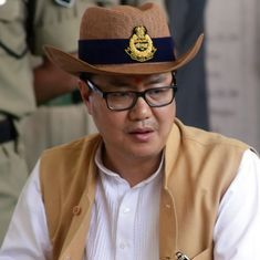 There has been a rise in communal violence incidents in UP in 2016, says Kiren Rijiju