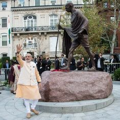 Let's get real: Modi instead of the Mahatma as a new mascot for khadi  isn't really such a big deal