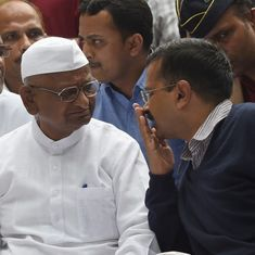 Anna Hazare criticises Arvind Kejriwal for removing donor list from Aam Aadmi Party website
