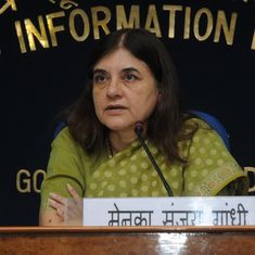 Maneka Gandhi claims she has not heard any cases of men committing suicide