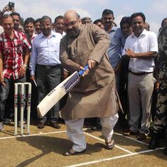 What is common between Amit Shah's BJP and the Australian cricket team in its heyday?