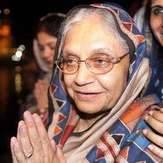 Sheila Dikshit appointed Delhi Congress chief