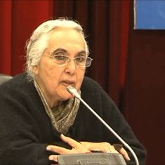 'For ministers to say you cannot ask questions is ridiculous': Romila Thapar on the need to question