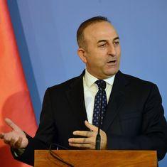 सीरिया में कुर्द लड़ाकों को हथियार देने के अमेरिका के फैसले पर तुर्की ने ऐतराज जताया