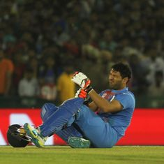Syed Mushtaq Ali Trophy: Yuvraj flops in Punjab's loss, Chahar five-for props up Rajasthan