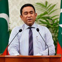 Maldives: Supreme Court rejects outgoing President Abdulla Yameen's petition seeking repoll