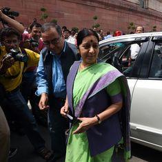 इराक में लापता 39 भारतीयों की हत्या के बारे में कोई ठोस सबूत नहीं हैं : सुषमा स्वराज