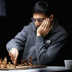 Viswanathan Anand held to a draw by Magnus Carlsen, begins Blitz Championship on tentative note