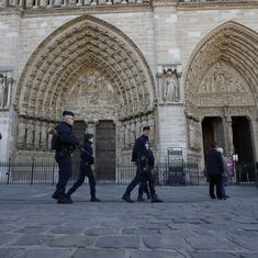 Paris: Police shoot man who attacked officer with a hammer outside Notre Dame Cathedral