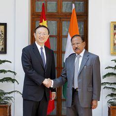 Brics Summit: NSA Ajit Doval holds talks with Chinese diplomat Yang Jiechi