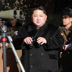 उत्तर कोरिया द्वारा एक और बैलिस्टिक मिसाइल  इंजन का परीक्षण किए जाने सहित दिन भर के बड़े समाचार