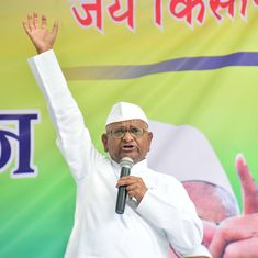 Delhi: Anna Hazare begins hunger strike for Lokpal, says Centre cancelled trains to stall protests