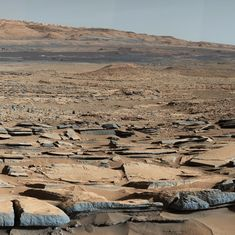 Mars may have absorbed water that once flowed on its surface: Study
