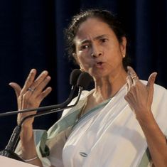 Mamata says an anti-BJP front is a possibility – but rules herself out of the race to head it