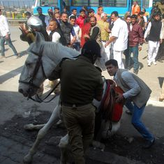 Uttarakhand government wants to withdraw case against BJP MLA for killing police horse Shaktiman