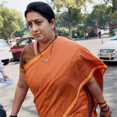 No prizes for guessing who was inspired by Hitler, Smriti Irani tells Rahul Gandhi